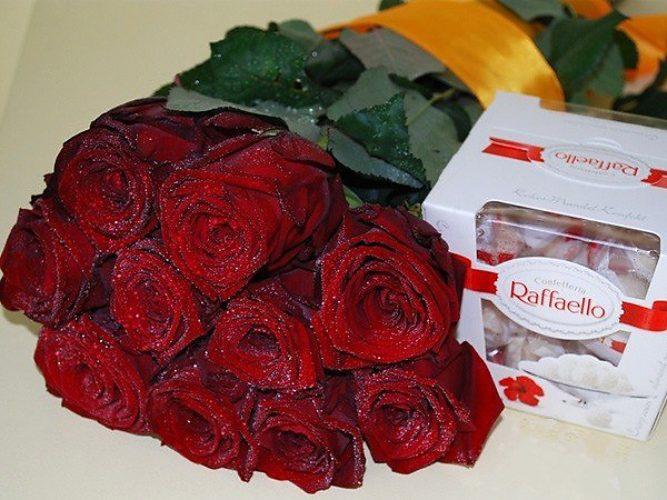 Фото рафаэлло с цветком