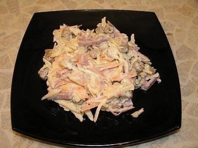 Вкусные и необычные рецепты салатов с