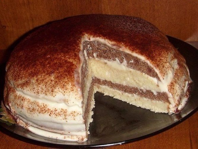 Кекс рецепт в большой силиконовой форме с изюмом
