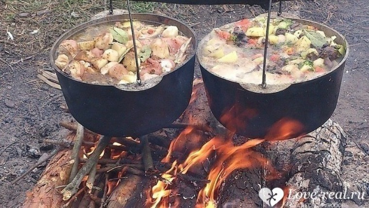 Что приготовить на природу зимой рецепты