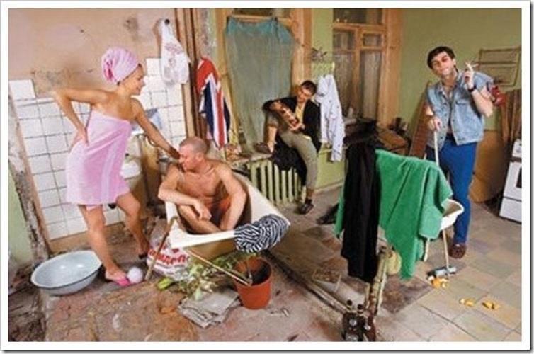 Порно в коммунальной квартире русское 43