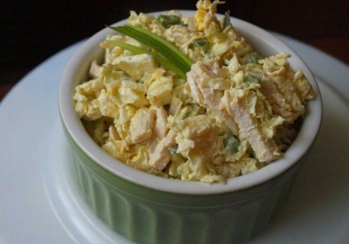 Рецепт салата капуста фасоль