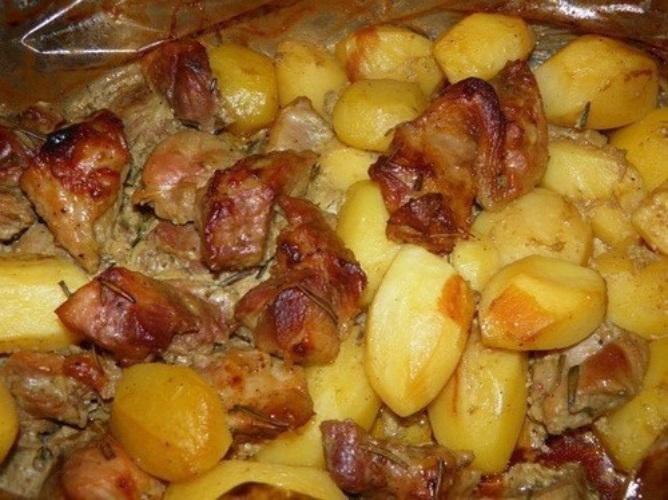 Картошка запеченная в рукаве в духовке пошаговый рецепт