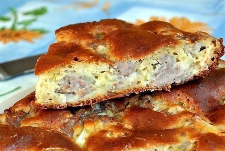 Вкусные и лёгкиеы с мясом