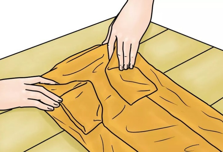 Как сделать чтобы рубашка не мялось