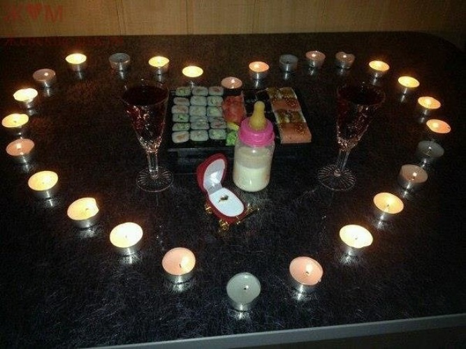 Как сделать что нибудь романтическое
