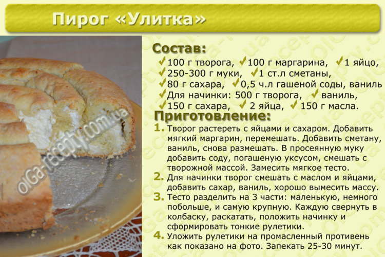 Рецепт вкусных пирожков быстрого приготовления