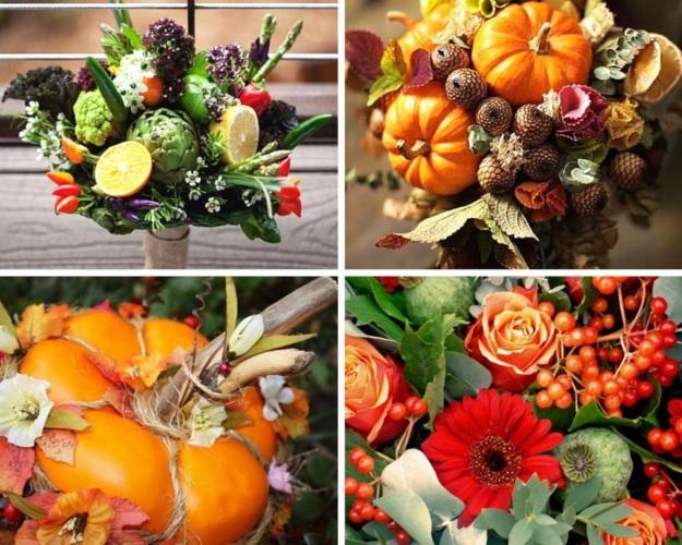Букеты из цветов и фруктов своими руками для начинающих 55