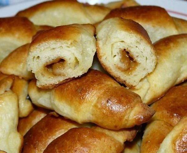 рогалики со сгущенкой рецепт с фото