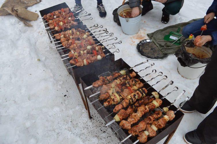 Что приготовить на улице зимой