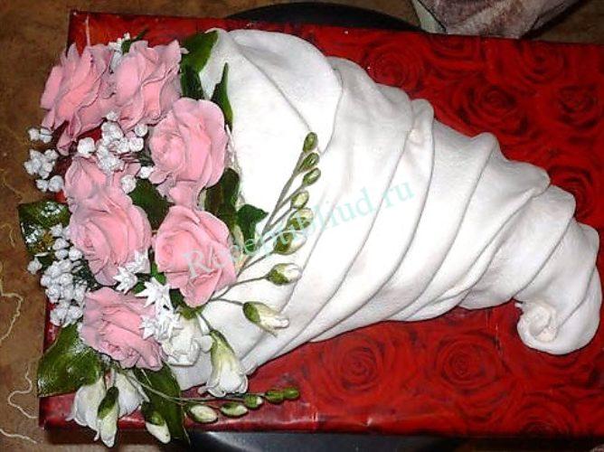 торт букет цветов из мастики фото обзор адресами статье