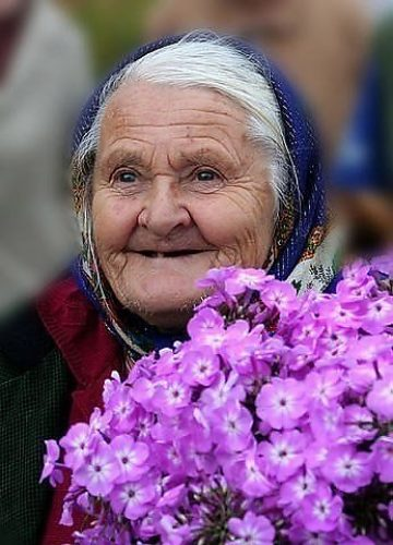 фото красивых бабушек
