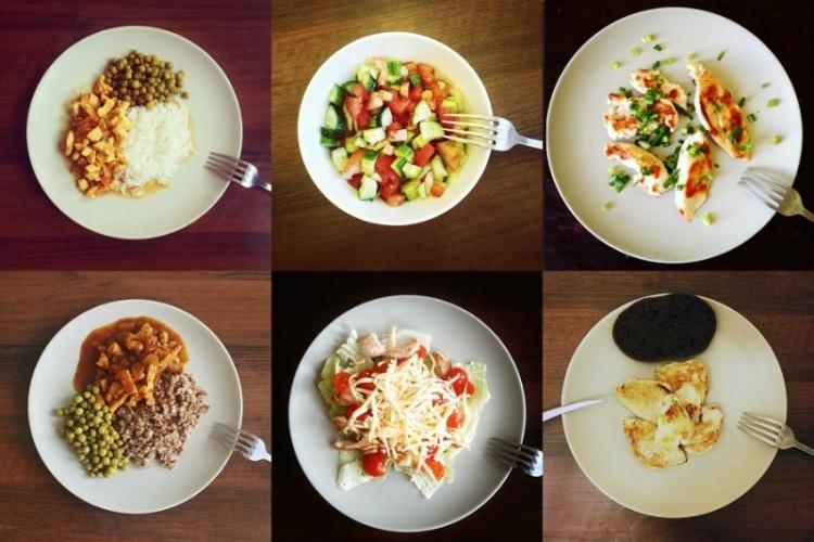 Похудела дробном питании